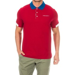 Textiel Heren Polo's korte mouwen Hackett Polo de golf Rood