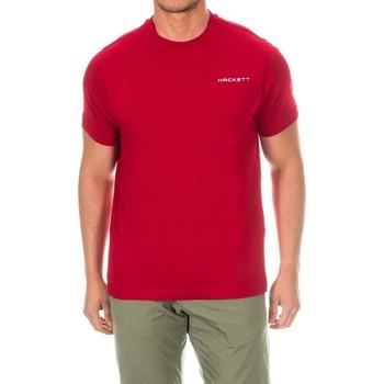 Textiel Heren T-shirts korte mouwen Hackett T-shirt de golf Rood