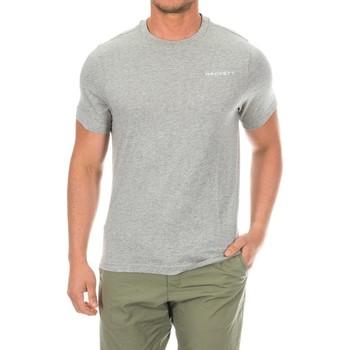 Textiel Heren T-shirts korte mouwen Hackett T-shirt de golf Grijs