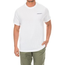 Textiel Heren T-shirts korte mouwen Hackett T-shirt de golf Wit