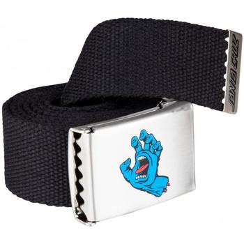 Accessoires Heren Riemen Santa Cruz Screaming mini hand belt Zwart