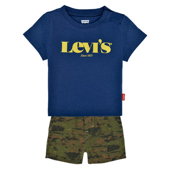 Textiel Jongens Setjes Levi's 6EC678-U29 Multicolour