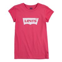 Textiel Meisjes T-shirts korte mouwen Levi's BATWING TEE SS Roze
