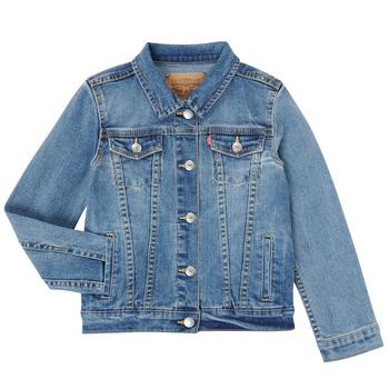 Textiel Meisjes Spijker jassen Levi's 3E4388-M0K Blauw