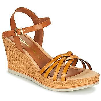 Schoenen Dames Sandalen / Open schoenen Tamaris SLOB Coganc / Safraan