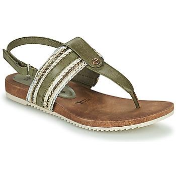 Schoenen Dames Sandalen / Open schoenen Tamaris LOCUST Pistache