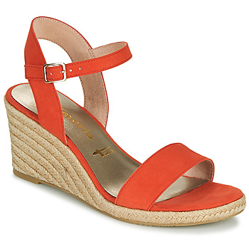 Schoenen Dames Sandalen / Open schoenen Tamaris LIVIAN Rood
