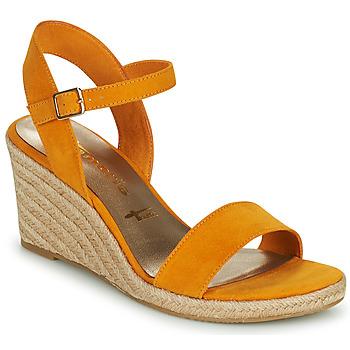 Schoenen Dames Sandalen / Open schoenen Tamaris LIVIAN Geel