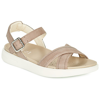 Schoenen Dames Sandalen / Open schoenen Geox D XAND 2S B Beige