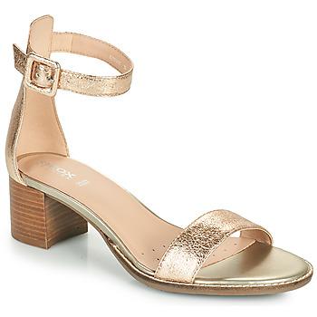 Schoenen Dames Sandalen / Open schoenen Geox D SOZY MID E Goud