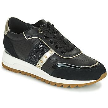 Schoenen Dames Lage sneakers Geox D TABELYA B Zwart