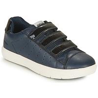 Schoenen Meisjes Lage sneakers Geox SILENEX GIRL Marine
