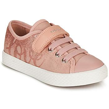 Schoenen Meisjes Lage sneakers Geox JR CIAK GIRL Roze