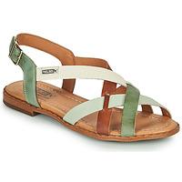 Schoenen Dames Sandalen / Open schoenen Pikolinos ALGAR W0X Brown / Groen