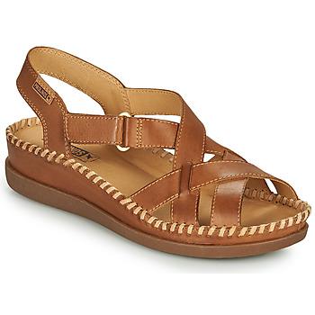 Schoenen Dames Sandalen / Open schoenen Pikolinos CADAQUES W8K Brown