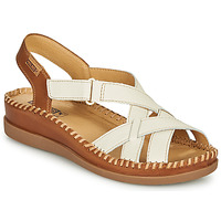 Schoenen Dames Sandalen / Open schoenen Pikolinos CADAQUES W8K Wit / Brown
