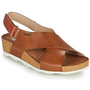 Schoenen Dames Sandalen / Open schoenen Pikolinos MAHON W9E Brown