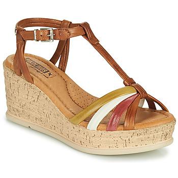 Schoenen Dames Sandalen / Open schoenen Pikolinos MIRANDA W2F Brown