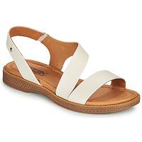 Schoenen Dames Sandalen / Open schoenen Pikolinos MORAIRA W4E Wit