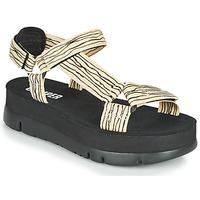 Schoenen Dames Sandalen / Open schoenen Camper ORUGA UP Zwart / Beige