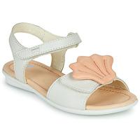Schoenen Meisjes Sandalen / Open schoenen Camper TWINS Roze / Wit