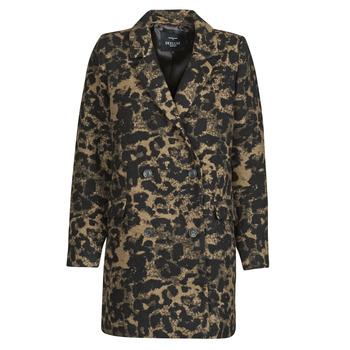 Textiel Dames Wind jackets Deeluxe LEA Brown / Zwart