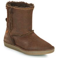 Schoenen Dames Laarzen El Naturalista LUX Brown