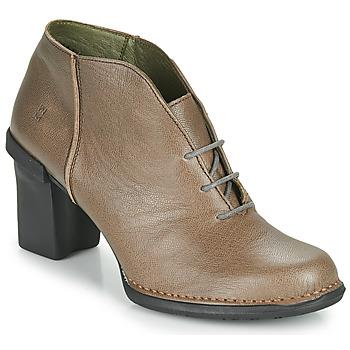Schoenen Dames Hoge laarzen El Naturalista CAPRETTO Brown