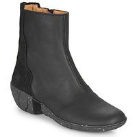 Schoenen Dames Hoge laarzen El Naturalista SOFT Zwart