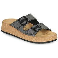 Schoenen Dames Leren slippers Papillio GABRIELA Grijs