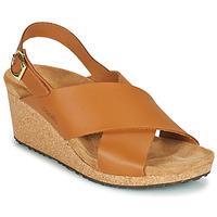 Schoenen Dames Sandalen / Open schoenen Papillio SAMIRA RING BUCKLE Brown