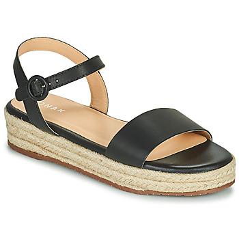 Schoenen Dames Sandalen / Open schoenen Jonak BALI Zwart