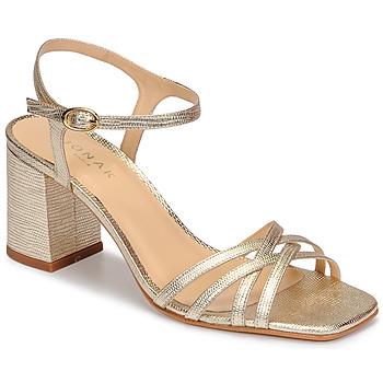 Schoenen Dames Sandalen / Open schoenen Jonak VICTORINE Goud