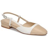 Schoenen Dames Sandalen / Open schoenen Jonak DHAPOU Beige / Wit