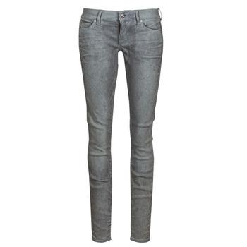 Textiel Dames Skinny Jeans G-Star Raw 3301 Low Skinny Wmn Dk / Aged / Cobler