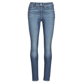 Textiel Dames Skinny Jeans G-Star Raw 3301 Ultra High Super Skinny Wmn Dk / Aged