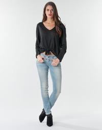 Textiel Dames Skinny Jeans G-Star Raw Lynn Mid Skinny Wmn Lt / Aged