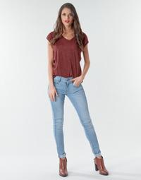 Textiel Dames Skinny Jeans G-Star Raw Lynn Mid Skinny Wmn NEW Lt / Aged