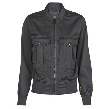 Textiel Dames Jasjes / Blazers G-Star Raw Rovic aviator bomber wmn Dk /  zwart / Dk /  zwart