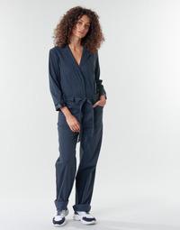 Textiel Dames Jumpsuites / Tuinbroeken G-Star Raw Workwear pj jumpsuit 34 slv wmn Mazarine / Blauw