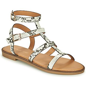 Schoenen Dames Sandalen / Open schoenen Moony Mood ONIRIK Zwart