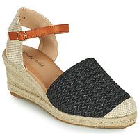 Schoenen Dames Sandalen / Open schoenen Moony Mood OCUTE Zwart