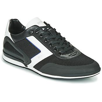 Schoenen Heren Lage sneakers BOSS SATURN LOWP ME Zwart