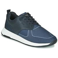 Schoenen Heren Lage sneakers BOSS TITANIUM RUNN TBJQ Blauw