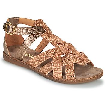 Schoenen Meisjes Sandalen / Open schoenen Bisgaard CELINE Goud