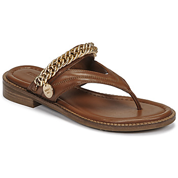 Schoenen Dames Sandalen / Open schoenen Bronx NEW THRILL Brown / Goud