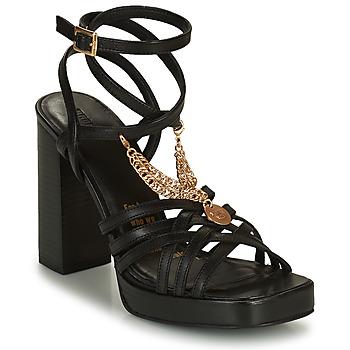 Schoenen Dames Sandalen / Open schoenen Bronx NEW RENEE Zwart