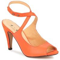 Schoenen Dames Sandalen / Open schoenen D.Co Copenhagen MARISSA Orange