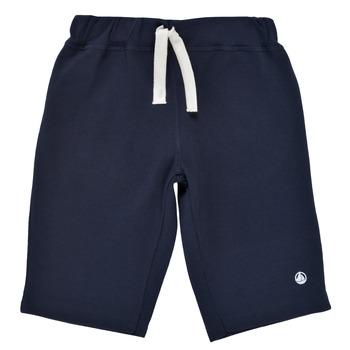 Textiel Jongens Korte broeken / Bermuda's Petit Bateau LAVIEN Marine