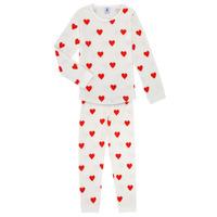 Textiel Meisjes Pyjama's / nachthemden Petit Bateau MISON Multicolour